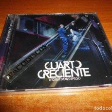 CDs de Música: TITO SATIVO & DJ FIGU CUARTO CRECIENTE CD ALBUM PRECINTADO SATIRA SATIVA ACCION SANCHEZ KINTARIO. Lote 126675315