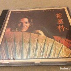 CDs de Música: TOMMY BOLIN ?– PRIVATE EYES. 1991.. Lote 126693319