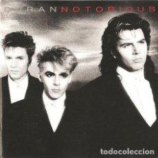 CDs de Música: DURAN DURAN ?– NOTORIOUS (ED.: UK, 1996). Lote 126695103