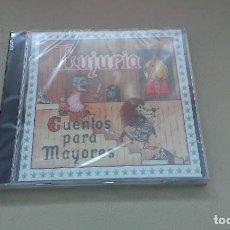 CDs de Música: CD LUJURIA CUENTOS PARA MAYORES ESPAÑA HEAVY METAL. Lote 126711771