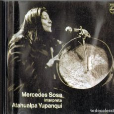 CDs de Música: MERCEDES SOSA INTERPRETA A ATAHUALPA YUPANQUI (CD). Lote 126725331