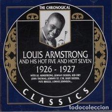 CDs de Música: LOUIS ARMSTRONG – VOLUME I 1925-1932 / CLASSICS 61 / 6 CDS. Lote 126790979
