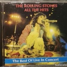 CDs de Música: ROLLING STONES THE BEST OF LIVE IN CONCERT 1972-1979. Lote 126794595