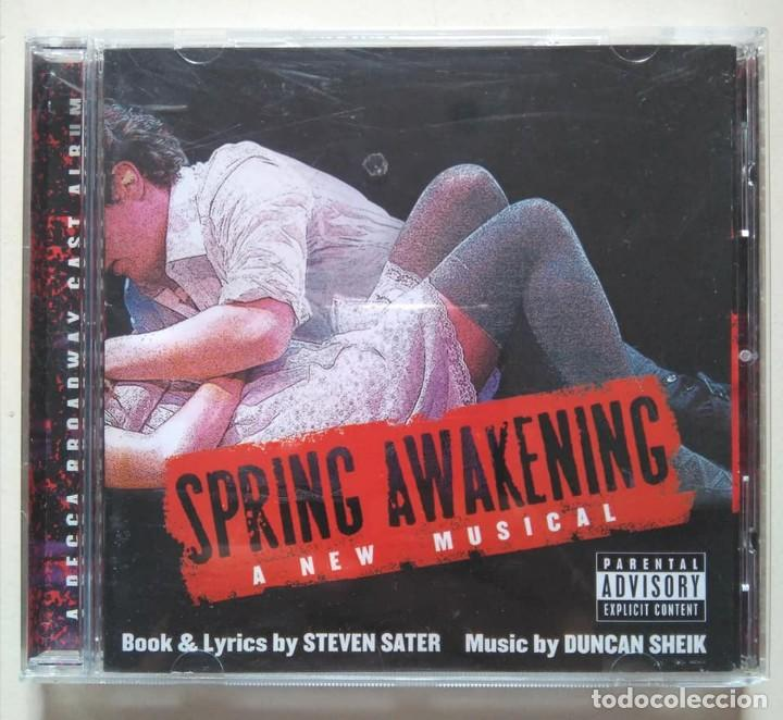 SPRING AWAKENING. EL DESPERTAR DE LA PRIMAVERA. ORIGINAL BROADWAY CAST. MUSICAL (Música - CD's Bandas Sonoras)