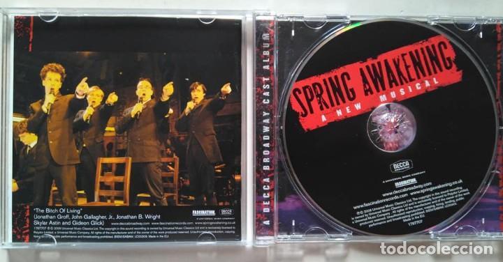 CDs de Música: Spring Awakening. El despertar de la primavera. Original Broadway Cast. Musical - Foto 2 - 126798887