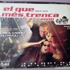 CDs de Música: EL QUE MES TRENCA 2000 VOLUMEN 4 - 3CDS - 2000. Lote 126807711