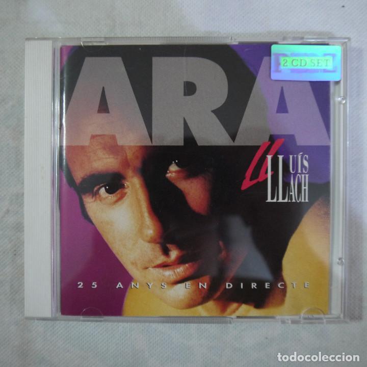 LLUIS LLACH - ARA. 25 ANYS EN DIRECTE - 2 CDS 1992 (Música - CD's Otros Estilos)