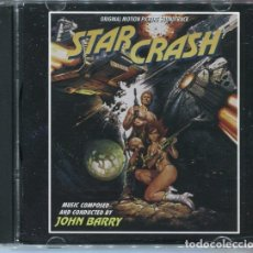 CDs de Música: STARCRASH / JOHN BARRY CD BSO. Lote 121448783
