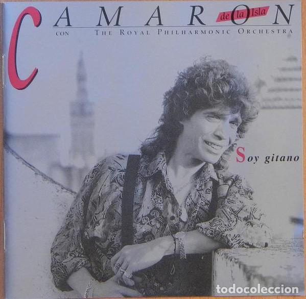 CAMARÓN DE LA ISLA CON THE ROYAL PHILHARMONIC ORCHESTRA ?– SOY GITANO (ED.: ESPAÑA, 1999) (Música - CD's Flamenco, Canción española y Cuplé)