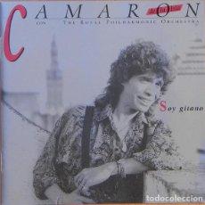 CDs de Música: CAMARÓN DE LA ISLA CON THE ROYAL PHILHARMONIC ORCHESTRA ?– SOY GITANO (ED.: ESPAÑA, 1999). Lote 126827871