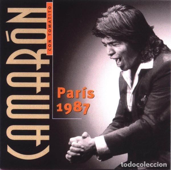 CAMARÓN CON TOMATITO ?– PARÍS 1987 (ED.: UE, 1989) (Música - CD's Flamenco, Canción española y Cuplé)