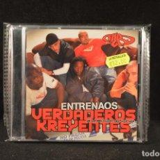 CDs de Música: VERDADEROS KREYENTES DE LA RELIGION DEL HIP HOP - ENTRENAOS - CD. Lote 126854255