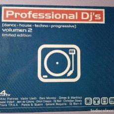 CDs de Música: PROFESSIONAL DJS - VOLUMEN 2 LIMITED EDITION - 4CDS - 1999. Lote 126864255