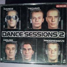CDs de Música: DANCE SESSIONS - VOLUMEN 2 - 4CDS - 1998. Lote 126892567