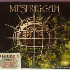 CDs de Música: MESHUGGAH - CHAOSPHERE - CD DIGIPACK LIMITED EDITION. Lote 126895699