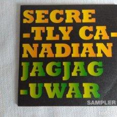 CDs de Música: CD ROCKDELUX/SECRETLY CANADIAN + JAGJUGUWAR SAMPLER.. Lote 126899671