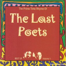 CDs de Música: THE LAST POETS,THE BEST OF THE PRIME RHYME OF . Lote 126928791
