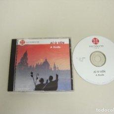 CDs de Música: 1018- A RODA AI O VEN CD PROMOCIONAL 2 TRACKS FOLK GALLEGO AÑO 1999 SPAIN. Lote 126953467