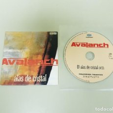 CDs de Música: 1018 - AVALANCH ALAS DE CRISTAL CD SINGLE PROMO ESPAÑA AÑO 2005. Lote 126965831