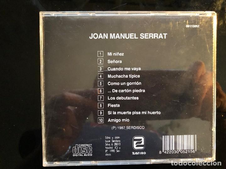 CDs de Música: mi niñez joan manuel serrat - Foto 2 - 126988583