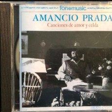 CDs de Música: CANCIONES DE AMOR Y CELDA AMANCIO PRADA CD. Lote 126989815
