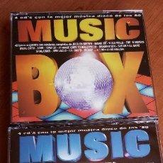 CDs de Música: MUSIC BOX 1 Y 2 - 2 BOX 8 CDS - LA MEJOR MUSICA DISCO DE LOS AÑOS 80 *MUY BUEN ESTADO*. Lote 127107431