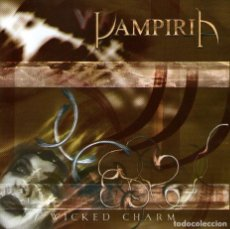 CDs de Música: VAMPIRIA - WICKED CHARM - CD ALBUM - 11 TRACKS - GOIMUSIC 2002. Lote 127109363