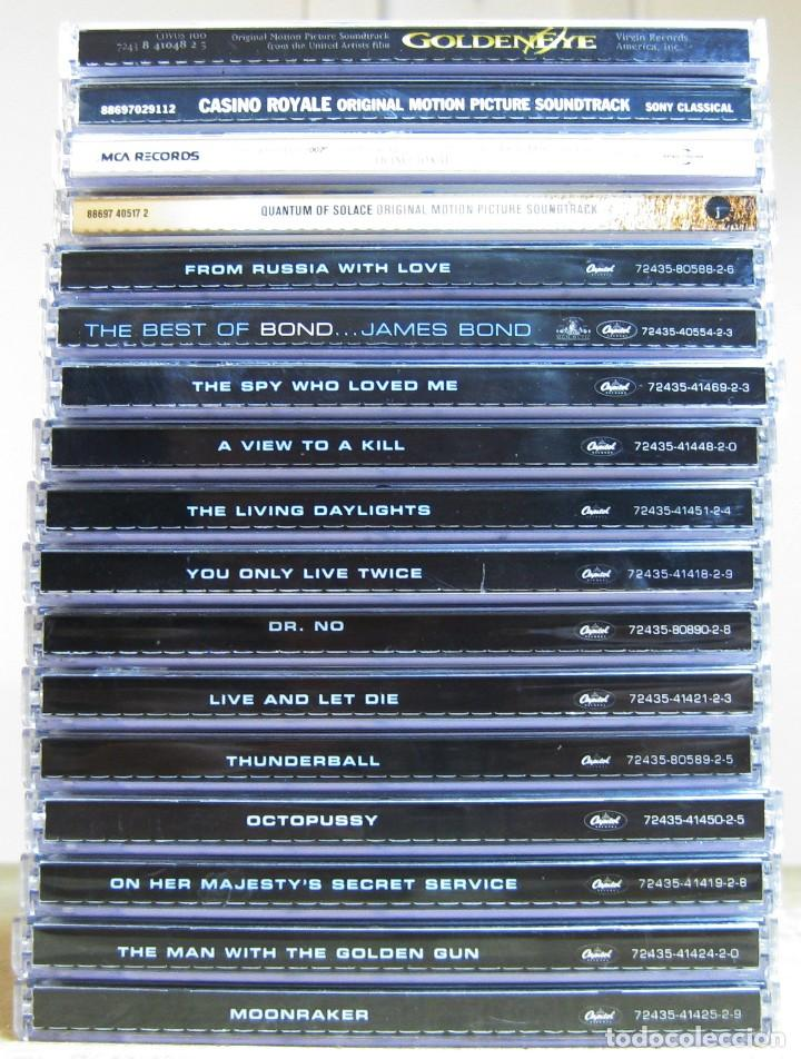 GRAN LOTE DE 17 CD´S DE JAMES BOND....LEER FICHA (Música - CD's Bandas Sonoras)