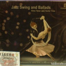 CDs de Música: JAZZ SWING AND BALLADS - XIMO TEBAR JAZZ GUITAR TRIOS - CD DIGIPACK. Lote 127134043