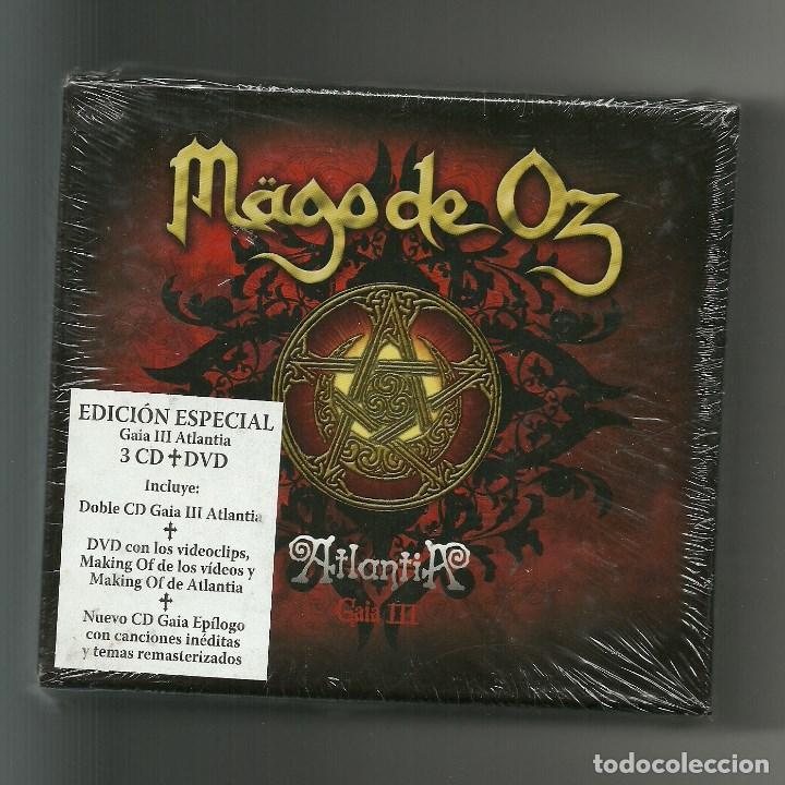 Mago De Oz Atlantia Gaia Iii Box Set 2010 Sold Through Direct