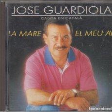 CDs de Música: JOSÉ GUARDIOLA CD CANTA EN CATALÀ LA MARE / EL MEU AVI 1990 DIVUCSA. Lote 127191483