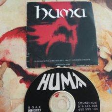 CDs de Música: HUMA, HEAVY METAL, CD SINGLE PROMO.. Lote 127203880