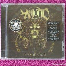 CDs de Música: ABIOTIC - SYMBIOSIS CD NUEVO Y PRECINTADO - METAL PROGRESIVO DEATHCORE. Lote 127258595