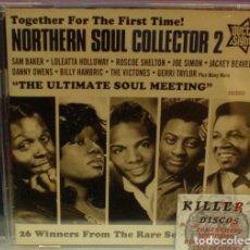 CDs de Música: NORTHERN SOUL COLLECTOR 2 / THE ULTIMATE SOUL MEETING - CD PRECINTADO. Lote 127359299