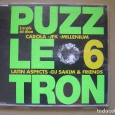CDs de Música - VARIOS - PUZZLETRON 6 - CD PROMOCIONAL CON 5 TEMAS 1998 - BOY - 127437299
