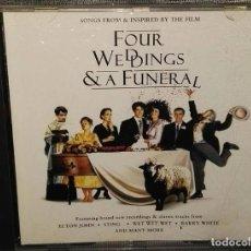 CDs de Música: 4 BODAS Y UN FUNERAL CD BSO FOUR WEDDINGS. Lote 127438063
