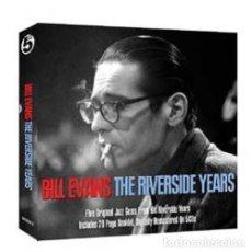 CDs de Música: BILL EVANS * BOX SET 5 CD * THE RIVERSIDE YEARS * CAJA PRECINTADA. Lote 127438295