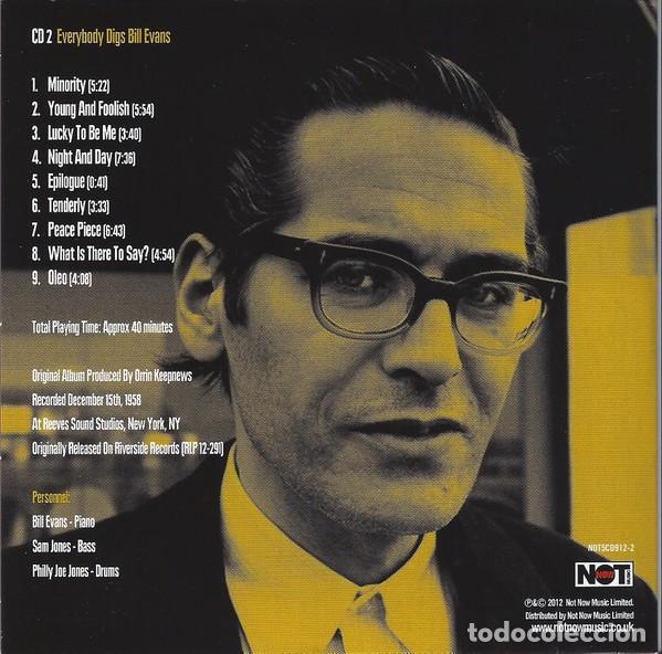 CDs de Música: BILL EVANS * BOX SET 5 CD * The Riverside Years * CAJA PRECINTADA - Foto 5 - 127438295