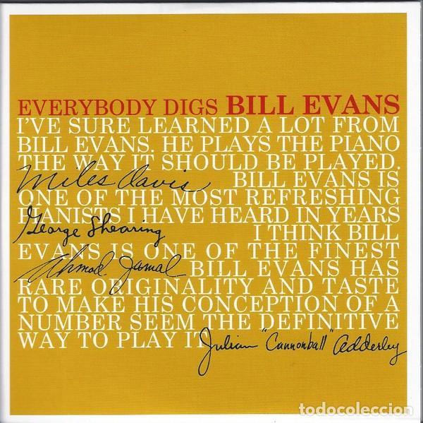 CDs de Música: BILL EVANS * BOX SET 5 CD * The Riverside Years * CAJA PRECINTADA - Foto 4 - 127438295