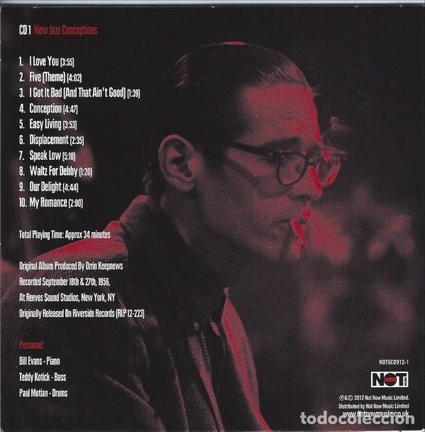 CDs de Música: BILL EVANS * BOX SET 5 CD * The Riverside Years * CAJA PRECINTADA - Foto 3 - 127438295