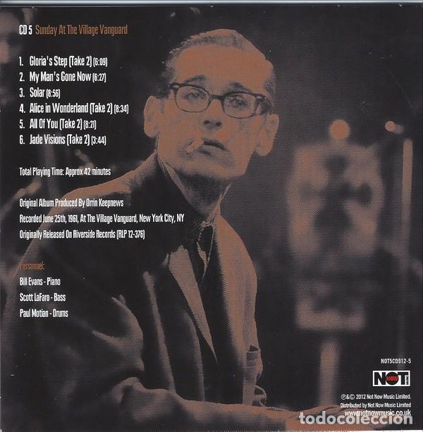 CDs de Música: BILL EVANS * BOX SET 5 CD * The Riverside Years * CAJA PRECINTADA - Foto 11 - 127438295
