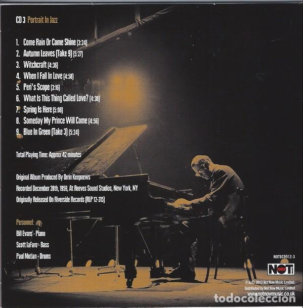 CDs de Música: BILL EVANS * BOX SET 5 CD * The Riverside Years * CAJA PRECINTADA - Foto 7 - 127438295