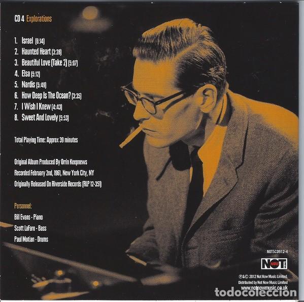 CDs de Música: BILL EVANS * BOX SET 5 CD * The Riverside Years * CAJA PRECINTADA - Foto 9 - 127438295