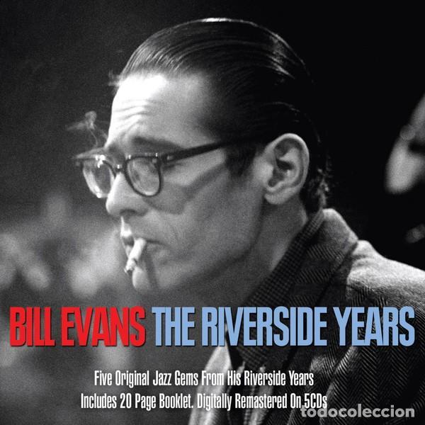 CDs de Música: BILL EVANS * BOX SET 5 CD * The Riverside Years * CAJA PRECINTADA - Foto 12 - 127438295