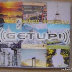 CDs de Música: BYRON STINGILY ?– GET UP - CD CON 4 TEMAS - BLANCO Y NEGRO. Lote 127438743