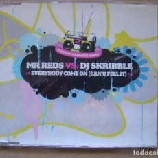 CDs de Música: MR. REDS VS. DJ SKRIBBLE ?– EVERYBODY COME ON - CD CON TRES TEMAS Y UN VIDEO - FFRR. Lote 127438855