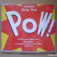 CDs de Música: CASINO - ONLY YOU - CD CON 4 TEMAS 1999 - BLANCO Y NEGRO. Lote 127440027