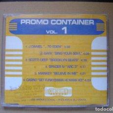 CDs de Música: VARIOS - PROMO CONTAINER VOL1 - CD PROMOCIONAL CON 6 TEMAS - CONTAINER. Lote 127440179