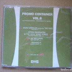 CDs de Música: VARIOS - PROMO CONTAINER VOL6 - CD PROMOCIONAL CON 4 TEMAS - CONTAINER. Lote 127440267