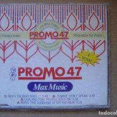 CDs de Música: VARIOS - PROMO 47 - CD PROMOCIONAL CON 4 TEMAS - MAX MUSIC. Lote 127441931
